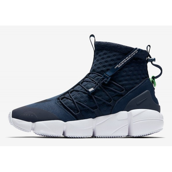 Nike Air Footscape Mid Utility Obsidian Blanche Ch...
