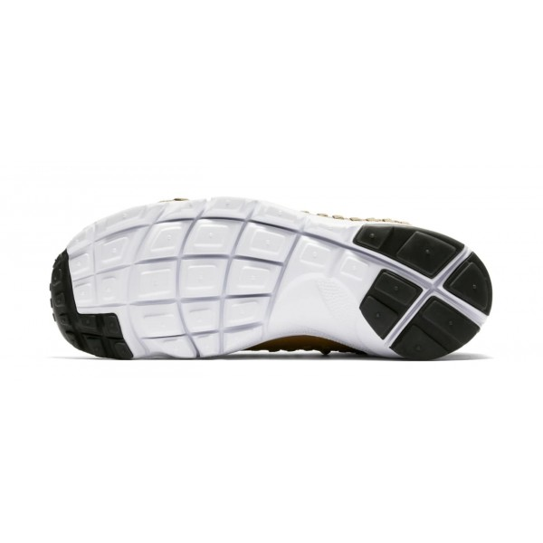 Nike Air Footscape Woven NM Flyknit Noir Blanche Chaussures Homme AO5417-001