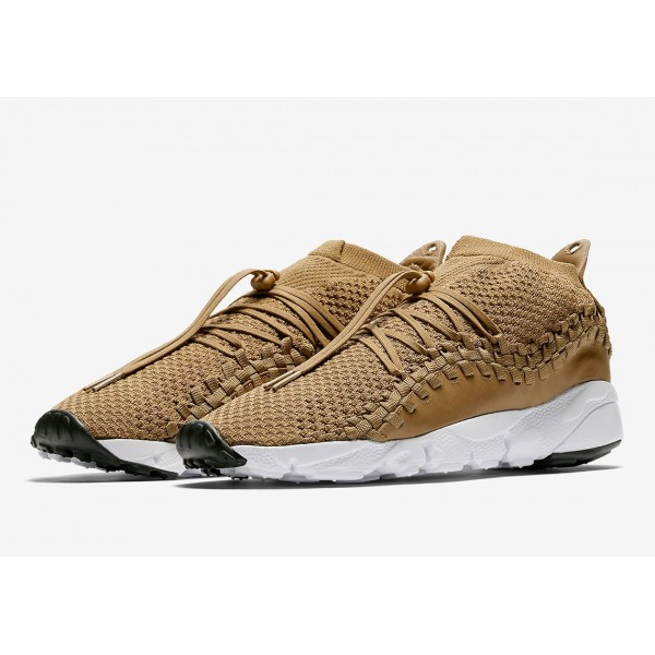 Nike Air Footscape Woven NM Flyknit Mica Vert Chaussures Homme AO5417-300