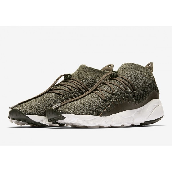 Nike Air Footscape Woven NM Flyknit Cargo Khaki Chaussures Homme AO5417-400