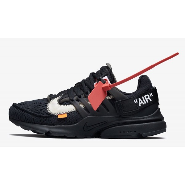 Off-White x Nike Presto Noir Blanche Chaussures AA...