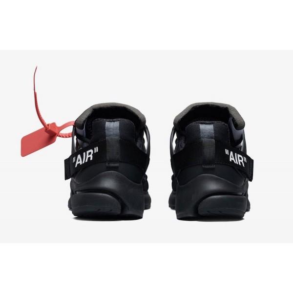 Off-White x Nike Presto Noir Blanche Chaussures AA3830-002