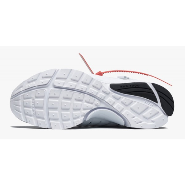 Off-White x Nike Presto Blanche Noir Chaussures AA3830-100
