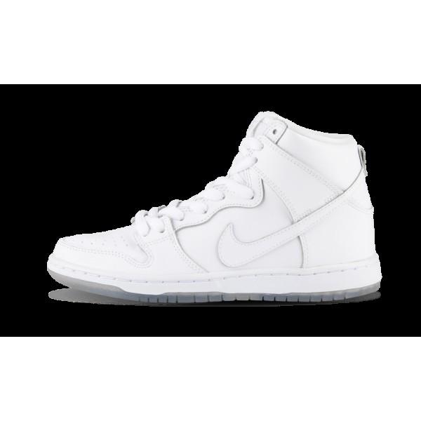 Nike Dunk High Pro SB Blanche/Base Gris Clair 3050...