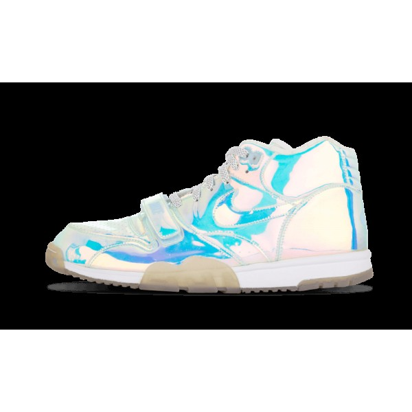 Nike Air Chaussure 1 Mid Prm QS Multicolore/Ice Bl...