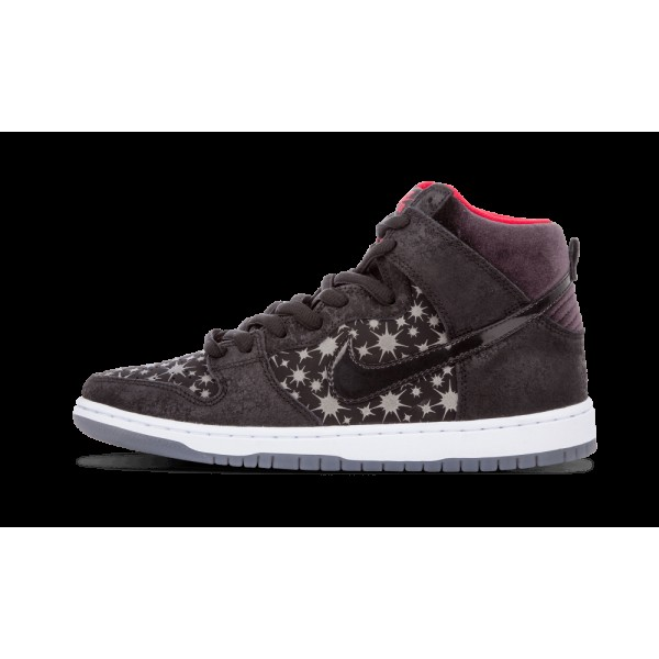 Nike Dunk High Premium SB Noir/Valiant Rouge 31317...
