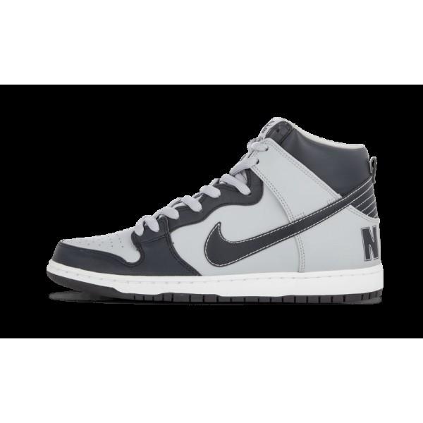 Nike Dunk High Premium SB Obsidian Foncé/Wolf Gri...