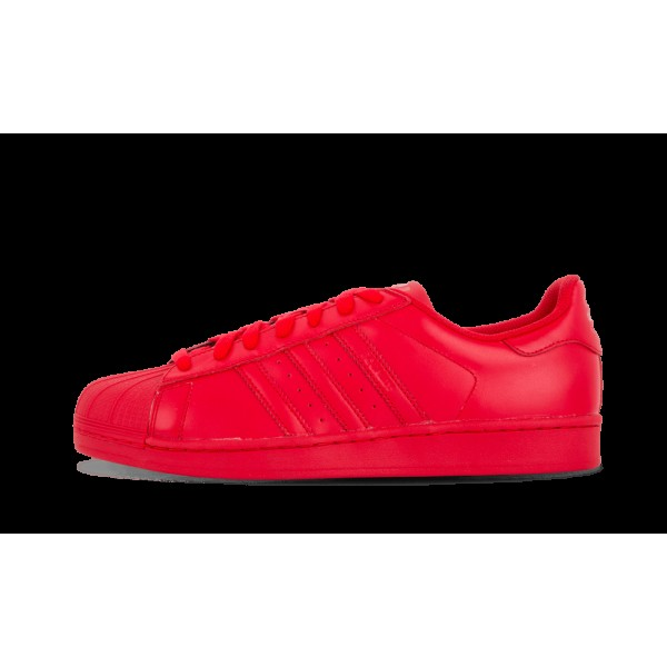 Adidas Homme Superstar Supercolor Pack Rouge S4183...