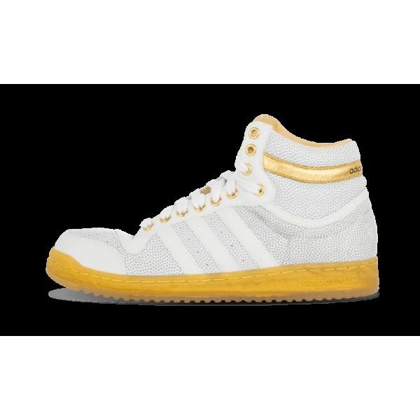 Adidas TOP TEN HI RUN Blanche/Or 78580