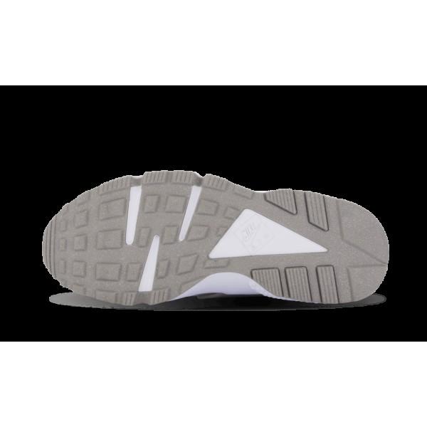 Femme Nike Air Huarache Premium Métallique Argent Blanche 683818-001