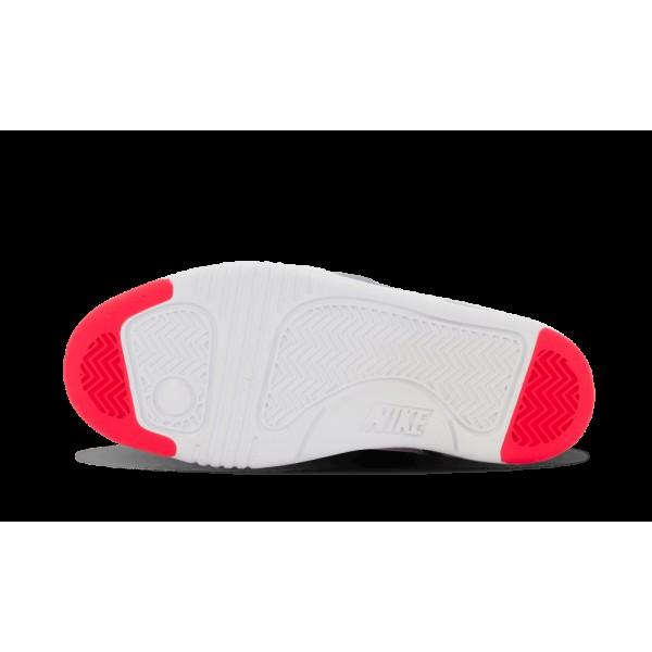 Nike Air Tech Challenge 2 Femme Blanche/Hyper Punch/Noir/Wolf Gris 654435-101