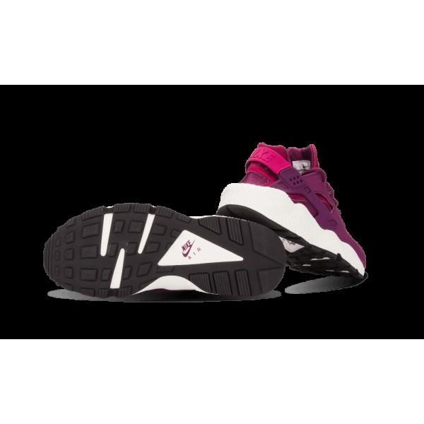 Nike Femme Air Huarache Run Print Sport Fuchsia/Noir/Voile 725076-500