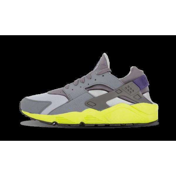 Nike Air Huarache Wolf Gris Cool Gris Volt Concord...