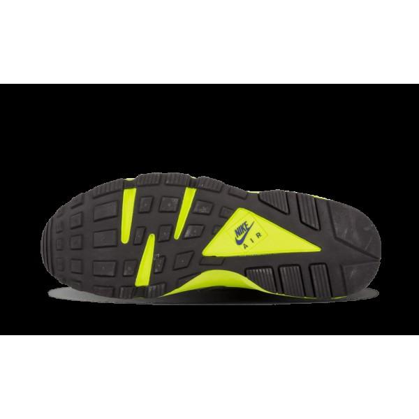 Nike Air Huarache Wolf Gris Cool Gris Volt Concord Foncé 318429-004