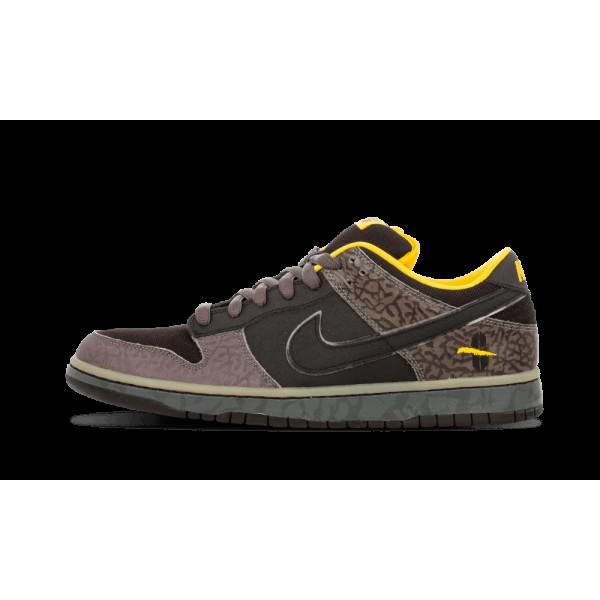 Nike Dunk Low Premium SB Midnight Fog/Noir/Jaune O...