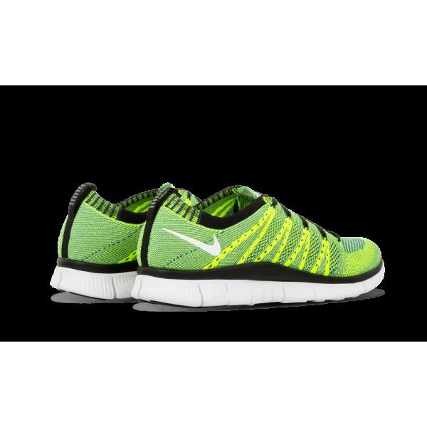 Nike Free Flyknit HTM SP Volt/Varsity Royal/Noir 616171-740