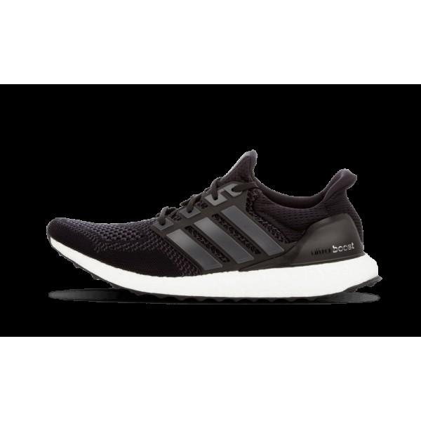 Adidas Ultra Boost Noir/Blanche Chaussures de Homm...