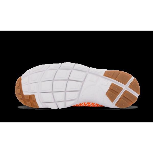 Nike Air Footscape Magista SP Total Orange/Blanche/Noir 652960-800