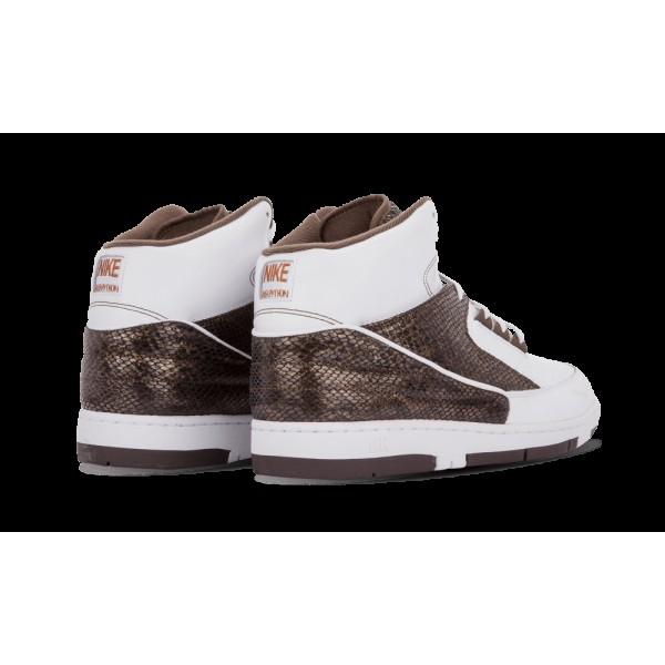 Nike Air Python Lux SP Blanche/Baroque Marron 632631-112