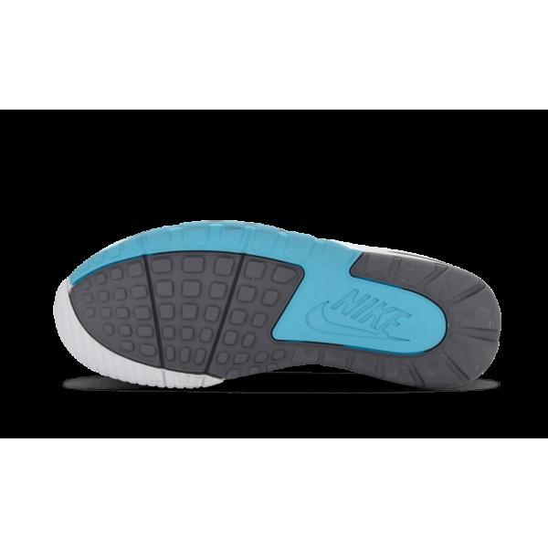 Nike Air SC II Blanche/Gris foncé/Chlorine Bleu 443575 100