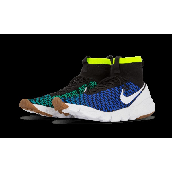 Nike Air Footscape Magista SP Noir/Blanche/Game Royal/Volt 652960-002