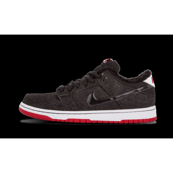 Nike Dunk Low Premium SB Noir/Varsity Rouge 313170...