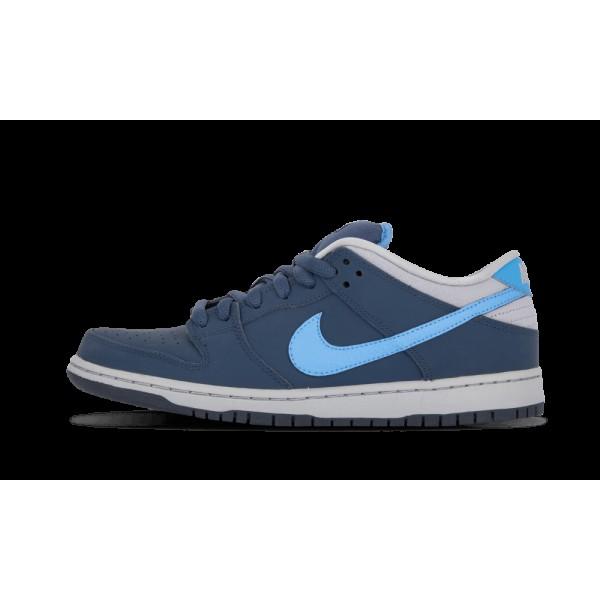 Nike Dunk Low Pro SB Squadron Bleu/Université Ble...