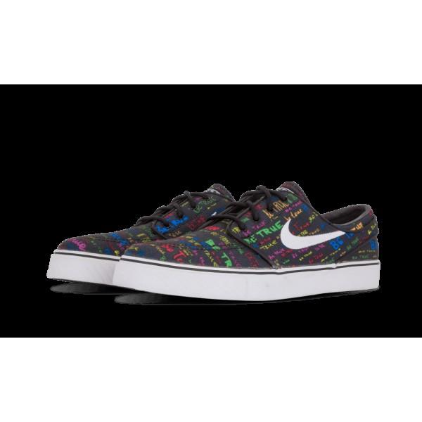 Nike ZM Stefan Janoski CNVS QS Noir/Blanche/Multicolore 702981-009
