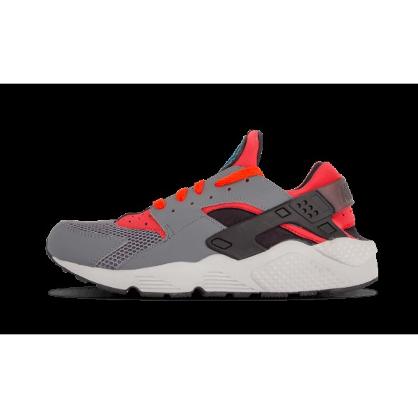 318429-009 Nike Homme Air Huarache Gris Crimson No...