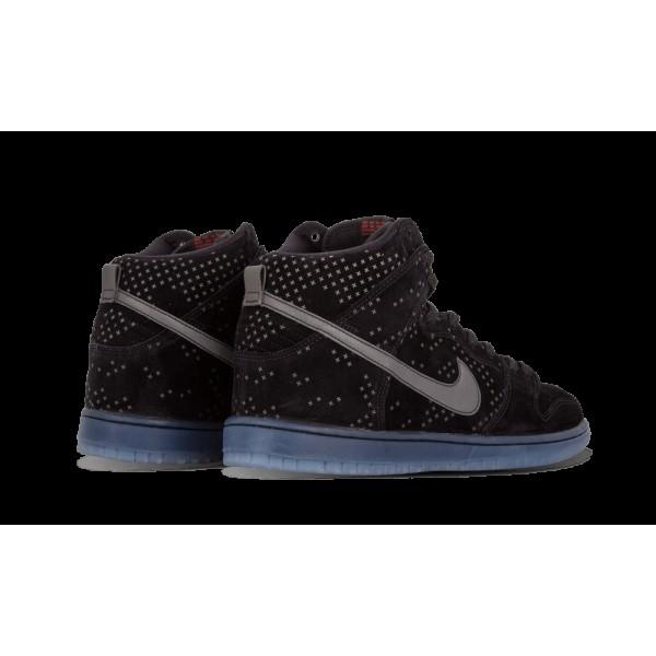 Nike Dunk High Prem Flash SB Noir/Clear 806333-001