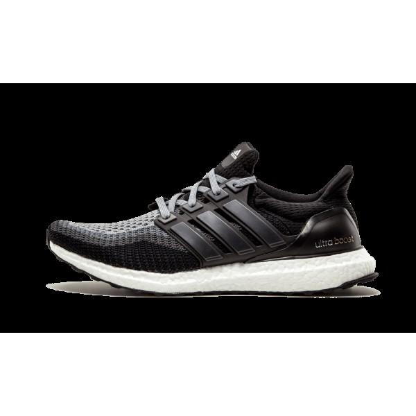 Adidas Ultra Boost Homme Gris/Noir/Solid Foncé Gr...