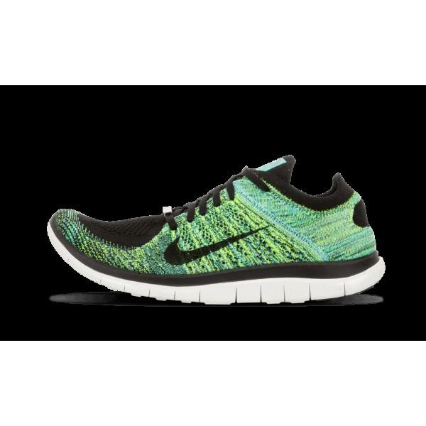 Nike Femme Free Flyknit 4.0 NWM Noir/Sport Turquoi...