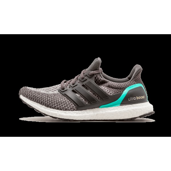 Adidas Ultra Boost Homme Solid Gris/Mint Shock/Bla...