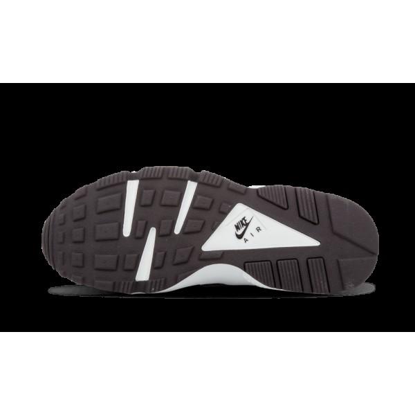 Nike Air Huarache Run Print Chaussures de Femme Noir/Pure Platinum 725076-002