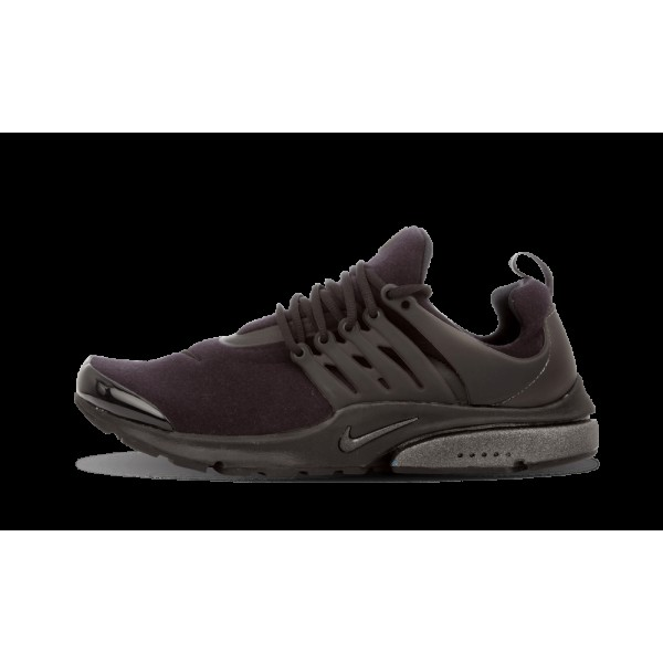 Homme Nike Air Presto QS Triple Noir Tech Fleece P...