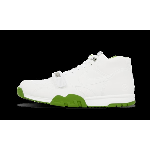 Nike Air Chaussure 1 Mid SP/Fragment Blanche/Chlor...