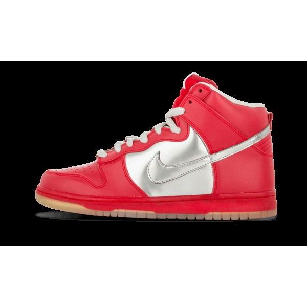 Nike Dunk High Premium SB Chrome/Vatisty Rouge 313...