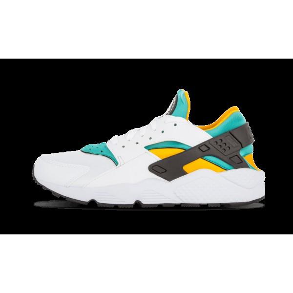 Nike Air Huarache Blanche/Sport Turquoise/Universi...