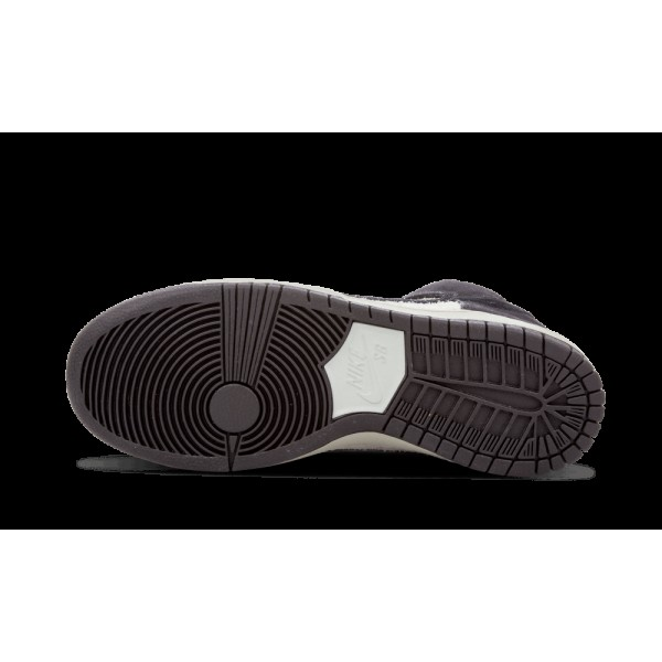 Nike Dunk High Pro SB 305050-017 Skateboarding Noir/Base Gris