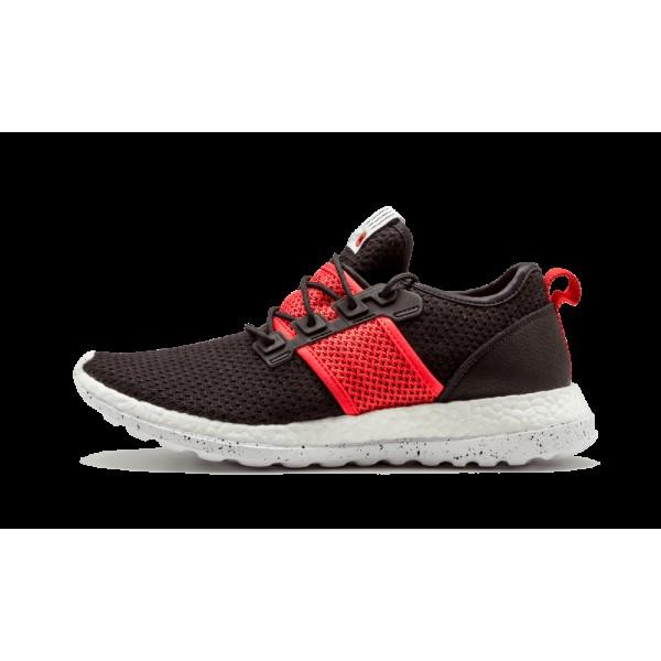 Adidas Pure Boost ZG Primeknit LI Noir/Blanche/Rou...