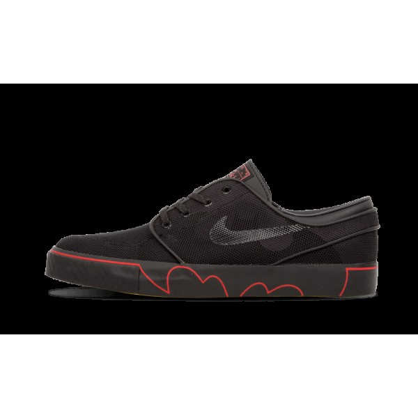 Nike Zoom Stefan Janoski SB DB Noir/Université Ro...