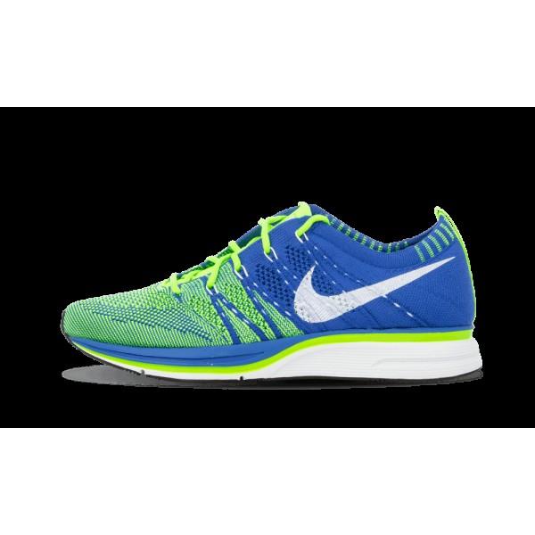 Nike Flyknit Varsity Royal/Electric Vert/Blanche 5...