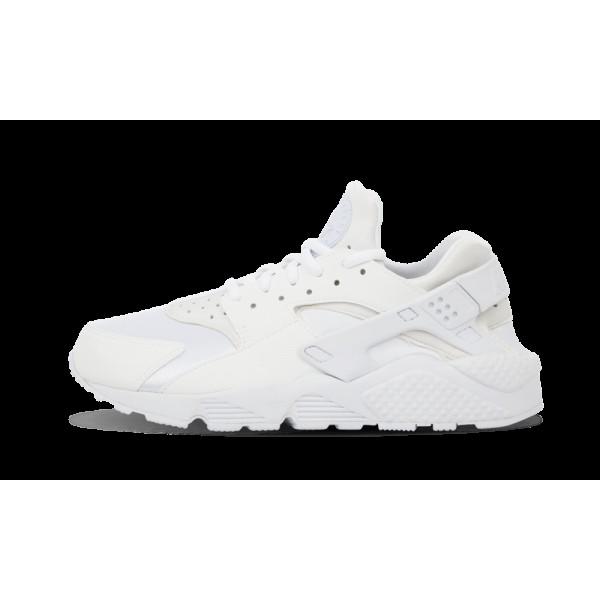 Nike Air Huarache Run Chaussures de Femme Blanche ...