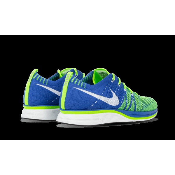 Nike Flyknit Varsity Royal/Electric Vert/Blanche 532984-431