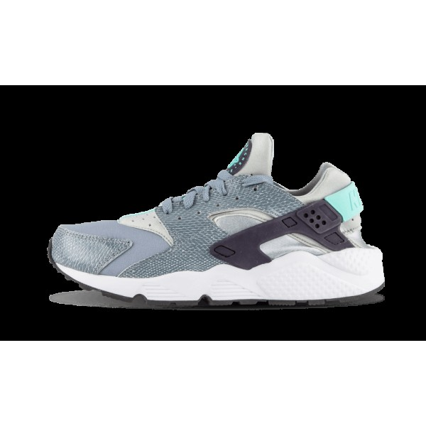 Nike Femme Air Huarache Run Aviator Gris/Pourpre/A...
