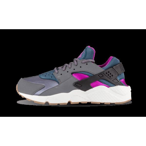 Nike Air Huarache Run Gris foncé/Teal 634835-016 ...