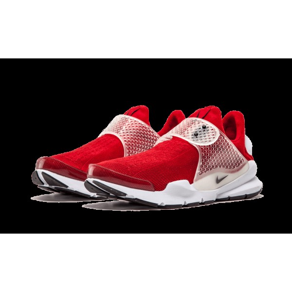 Homme Nike Sock Dart Gym Rouge Noir Blanche 819686-601