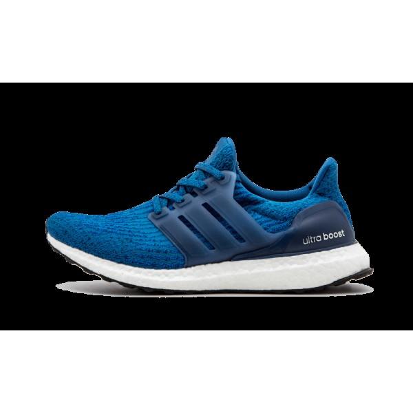 Adidas Ultra Boost Bleu/Noir/Blanche BA8844