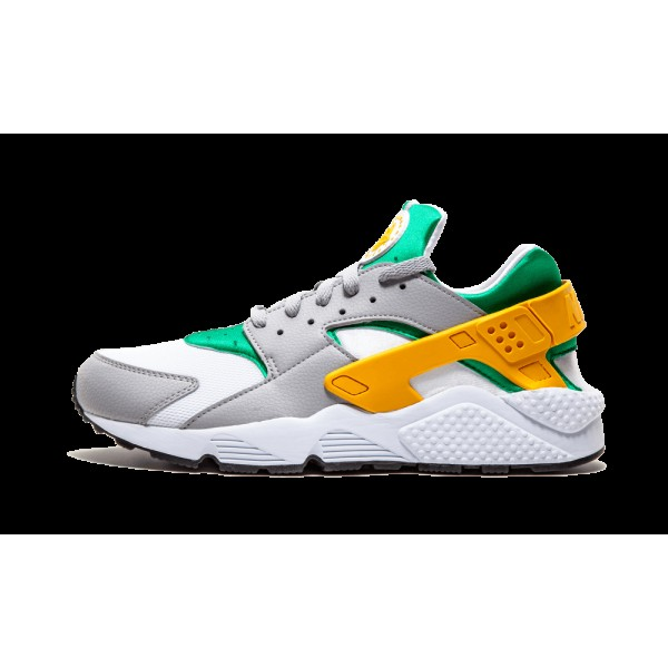 Nike Huarache Lucid Vert/Or/Wolf Gris/Blanche 3184...