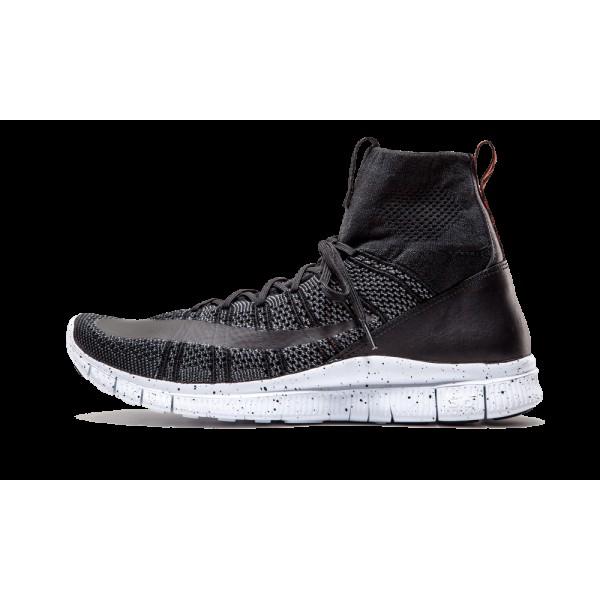 Nike Free Flyknit Mercurial Noir/Gris foncé/Team ...